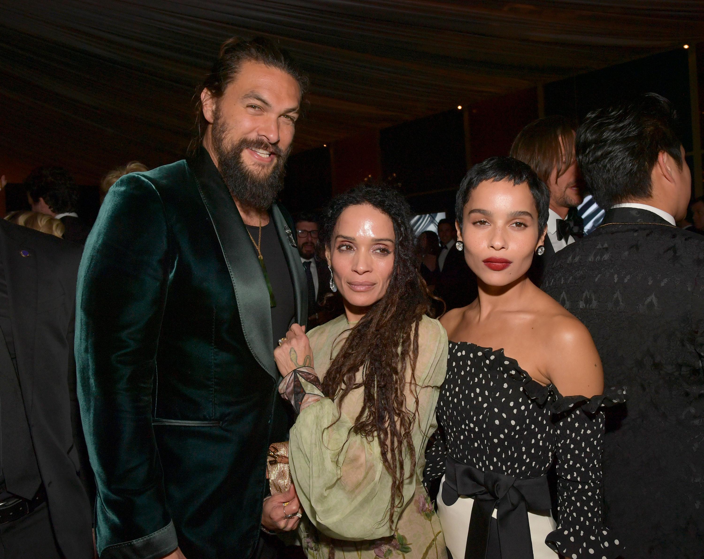 Jason, Lisa, and Zoë standing together