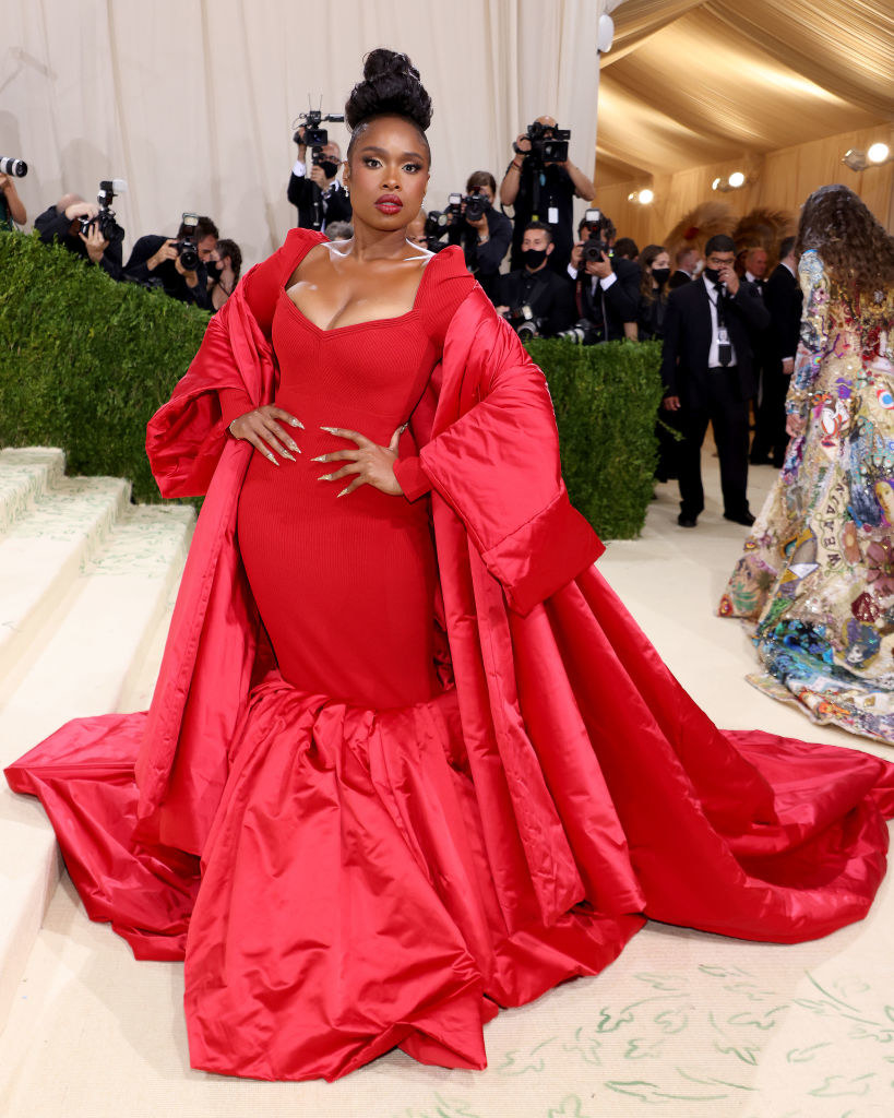 Jennifer Hudson attends The 2021 Met Gala Celebrating In America: A Lexicon Of Fashion