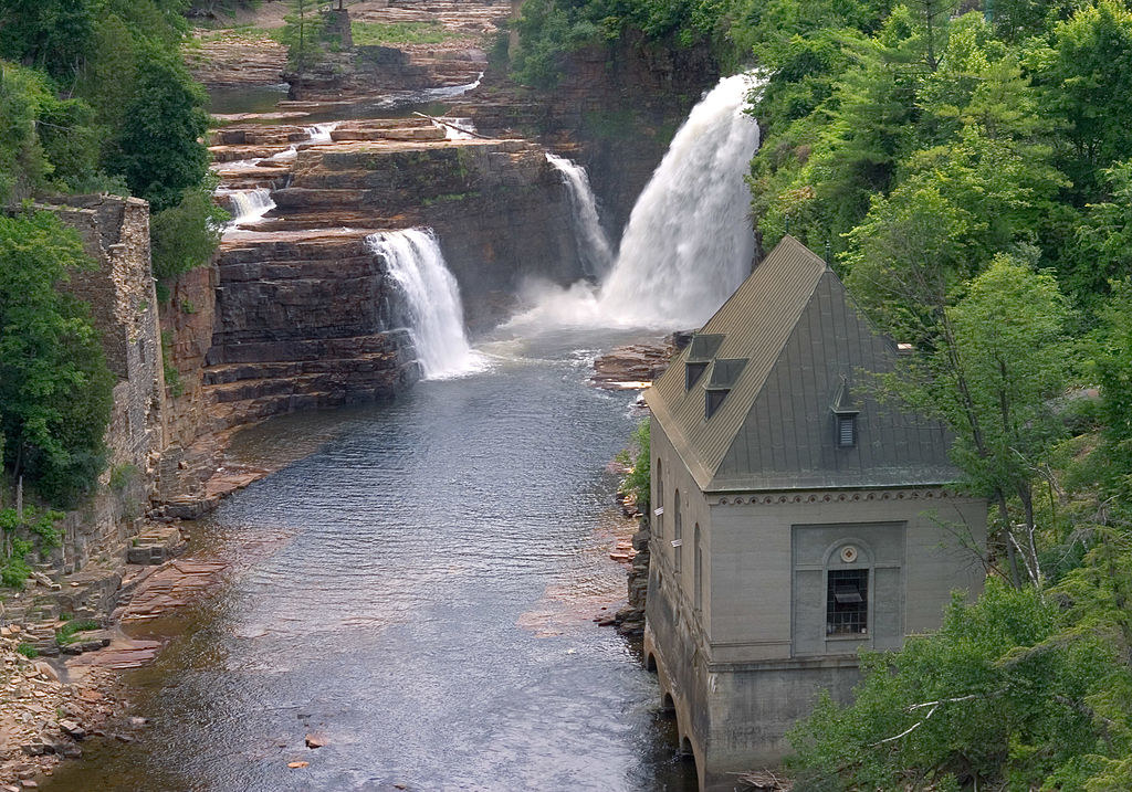 Ausable Chasm in Upstate NY.