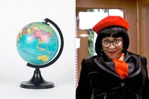 globe and raven
