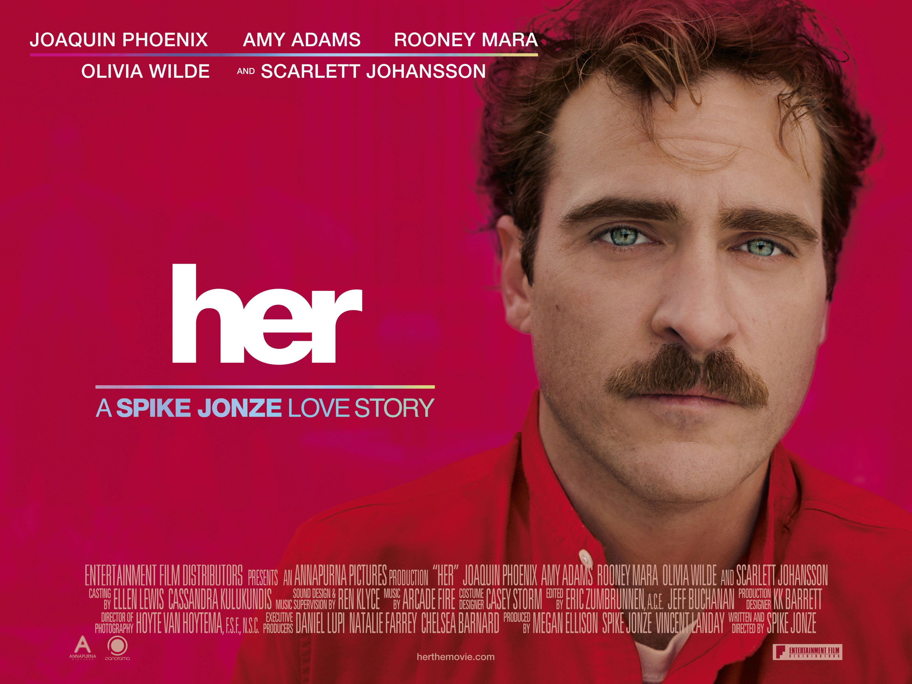 """the poster for """"her"""""""