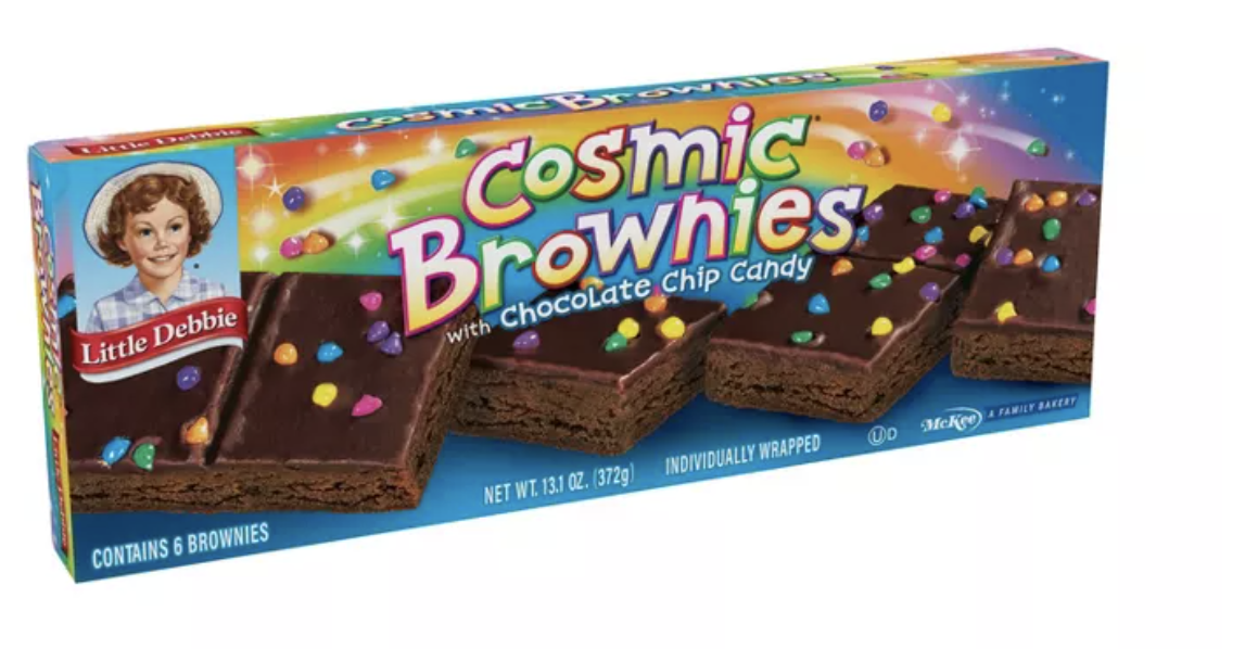 box of Cosmic brownies