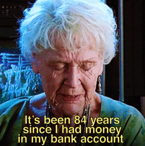 """Woman from """"Titanic"""" saying, """"It's been 84 years since I had money in my bank account"""""""
