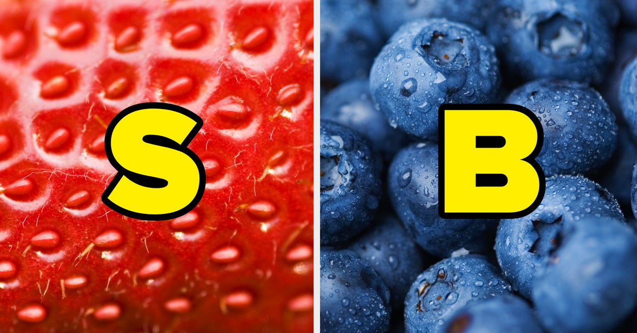 This A-Z Food Quiz Will Reveal The True Color Of Your Soul