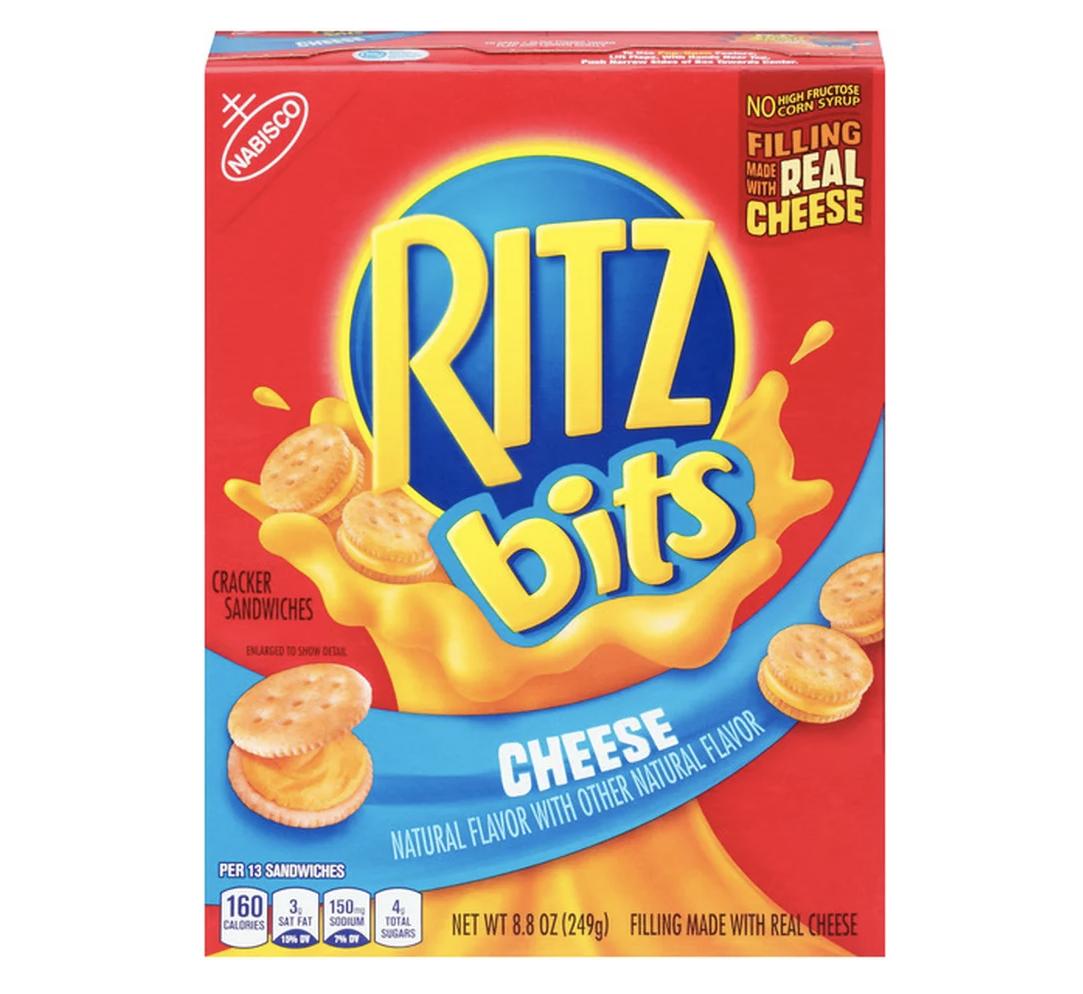 box of Ritz Bits crackers