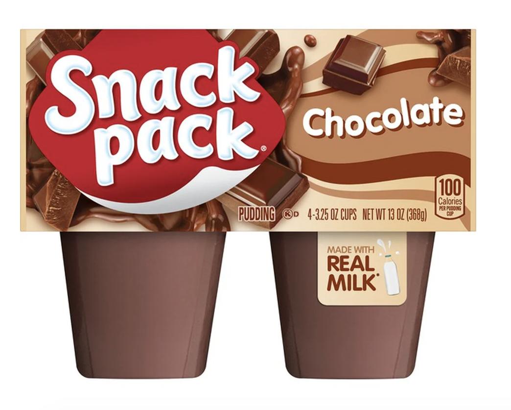 chocolate pudding packs