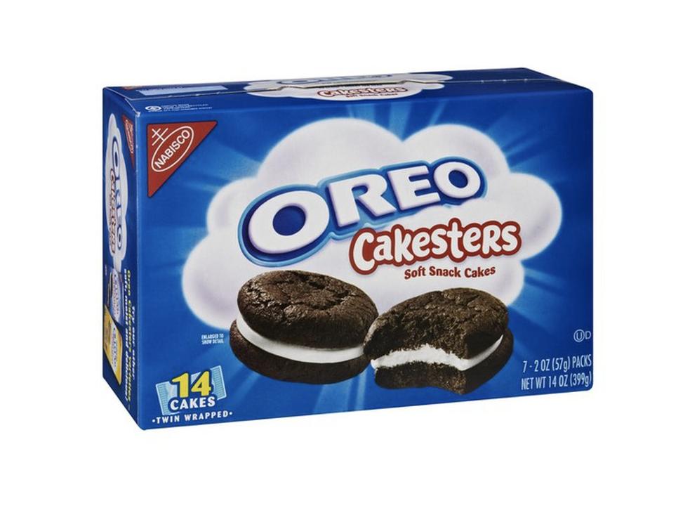 box of Oreo Cakesters