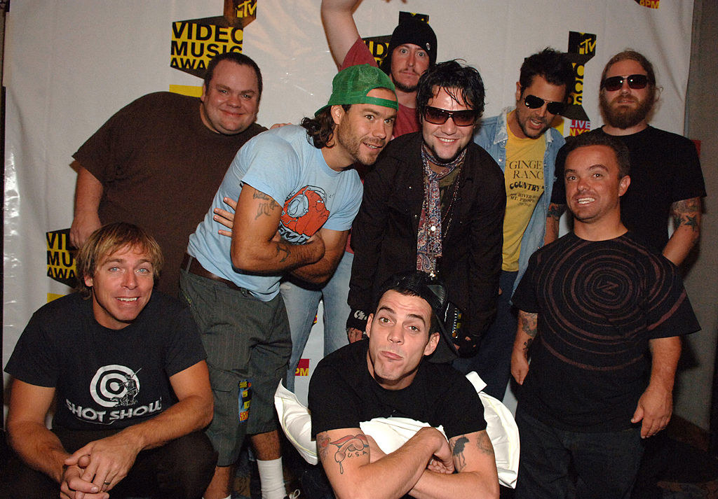 the cast of Jackass at the MTV Video Music Awards