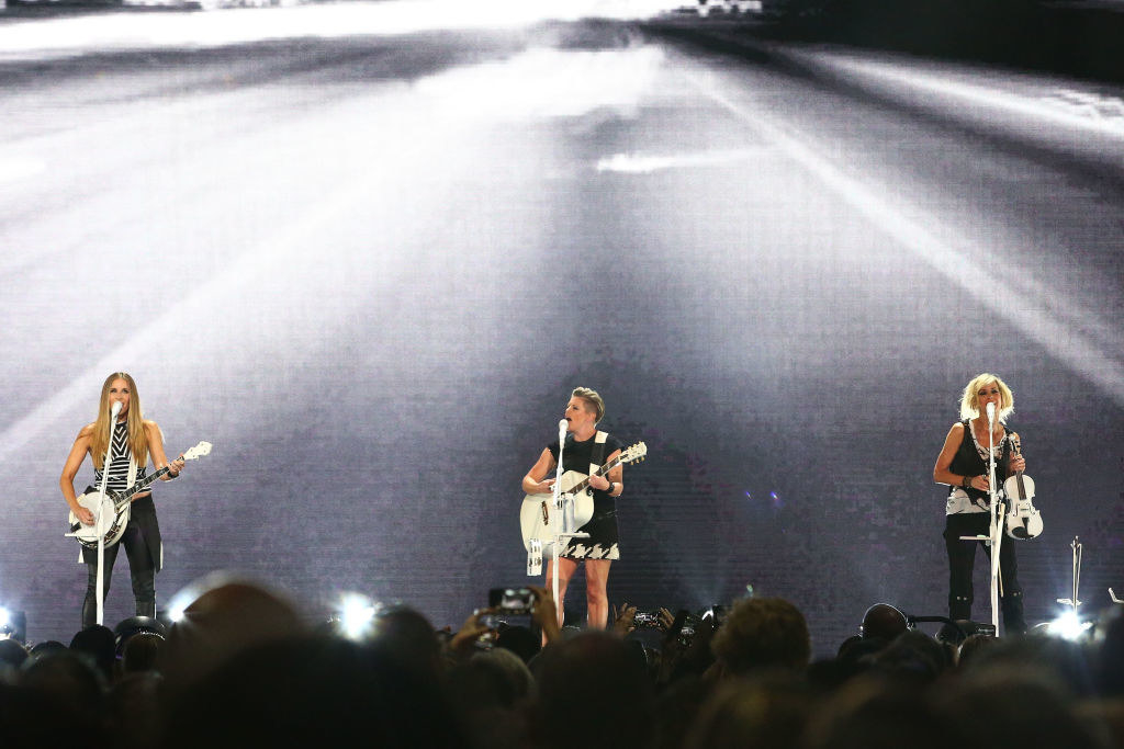 The Dixie Chicks performing in Australia