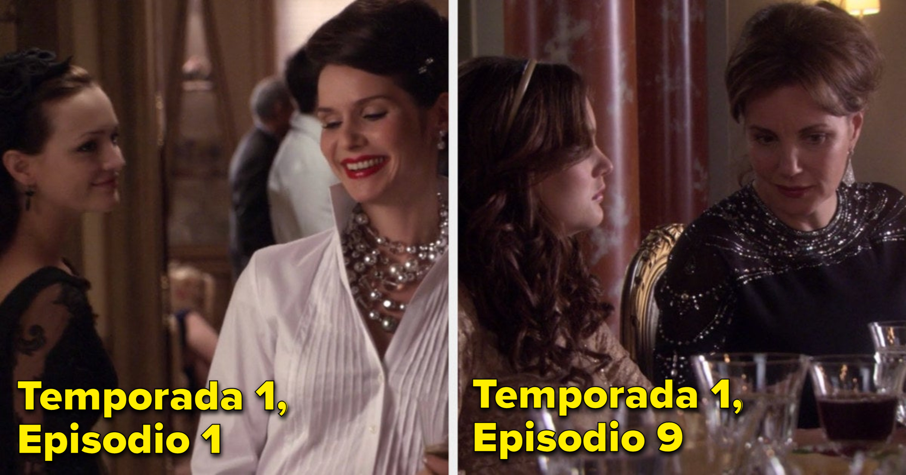 Florencia Lozano as Blair's mom in the pilot and Margaret Colin as Blair's mom later on