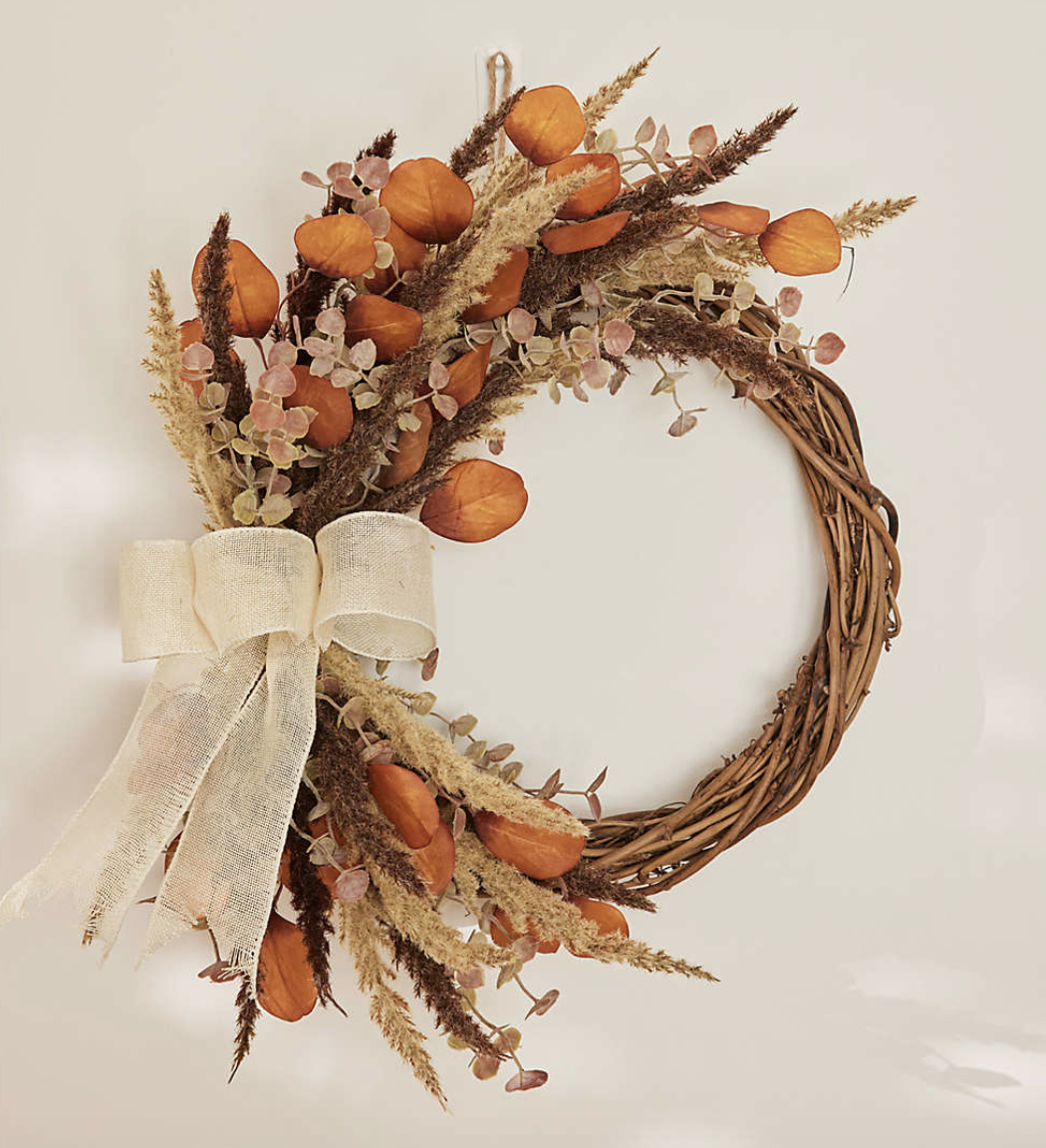 the fall wreath