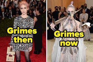 grimes then vs grimes now