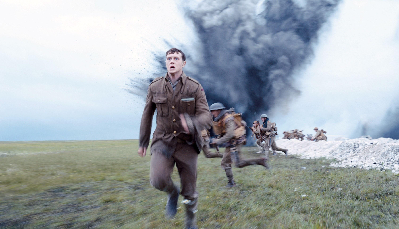 Lance Corporal William Schofield running