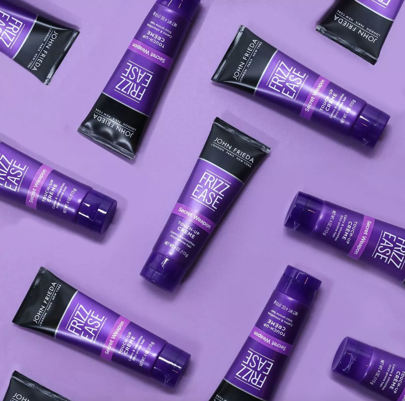 A set of tubes with hair creme