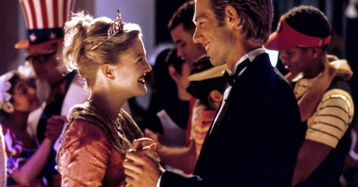 """Drew Barrymore's """"Never Been Kissed"""" Co-Star Michael Vartan Says Things Got A Little Intense During Their Kissing Scene"""