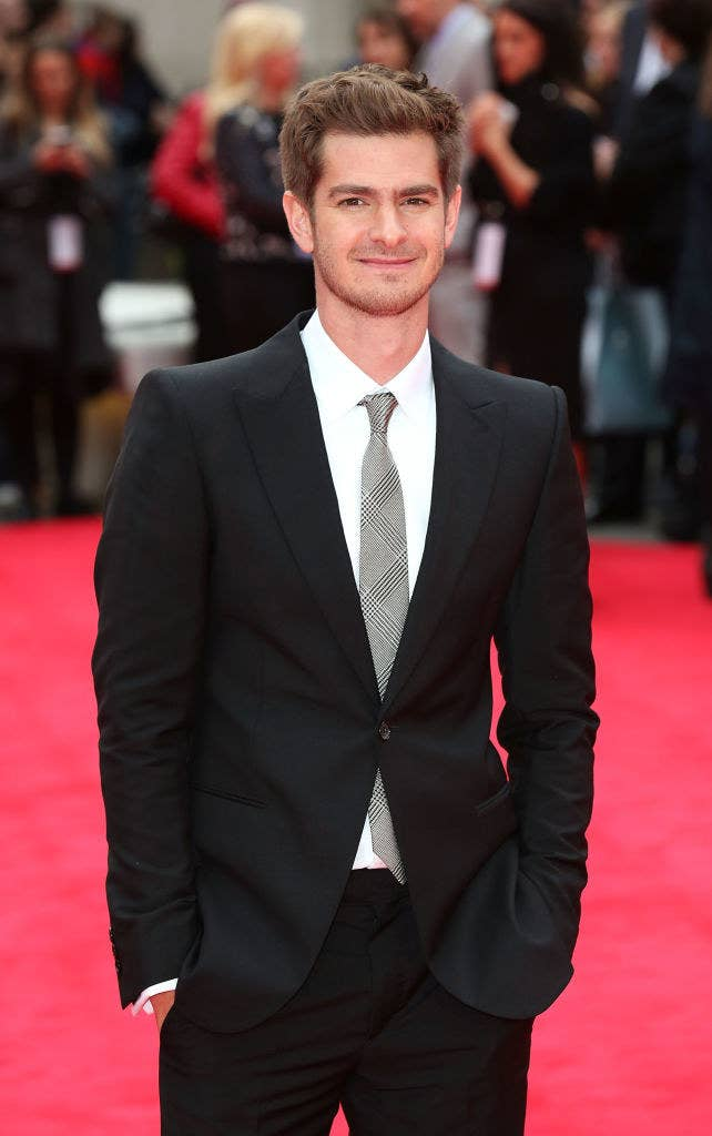 """Andrew Garfield attends the World Premiere of """"The Amazing Spider-Man 2"""""""