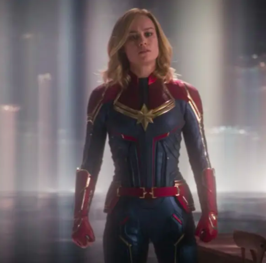 Carol's suit fits her perfectly