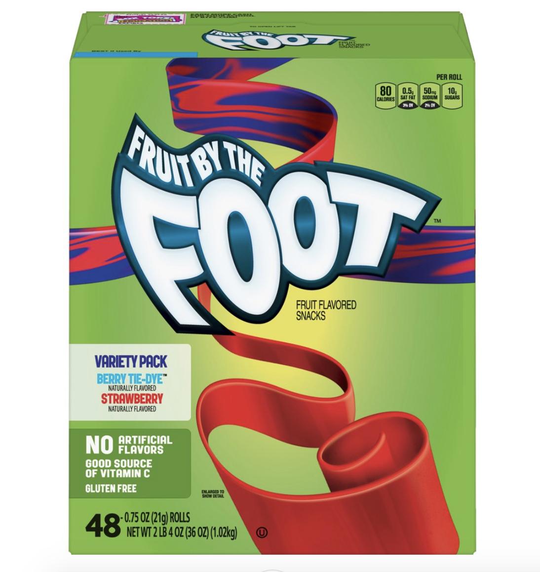 box of Fruit Roll-Ups