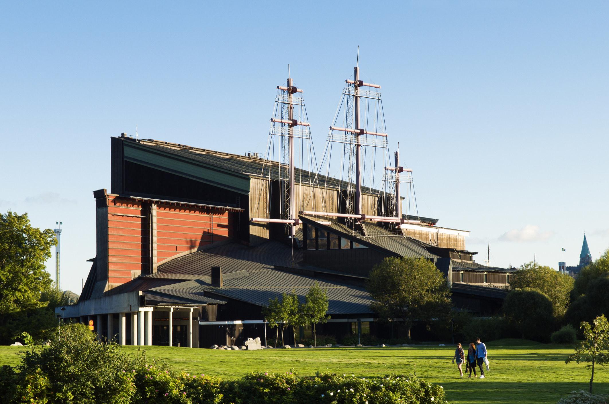 The Vasa Museum exterior in Stockholm.