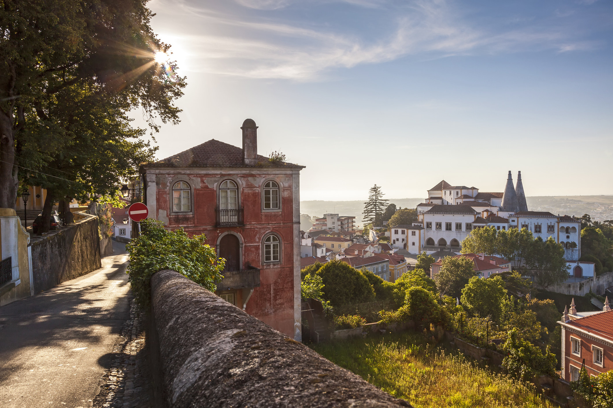 The town of Sintra, Portugal.