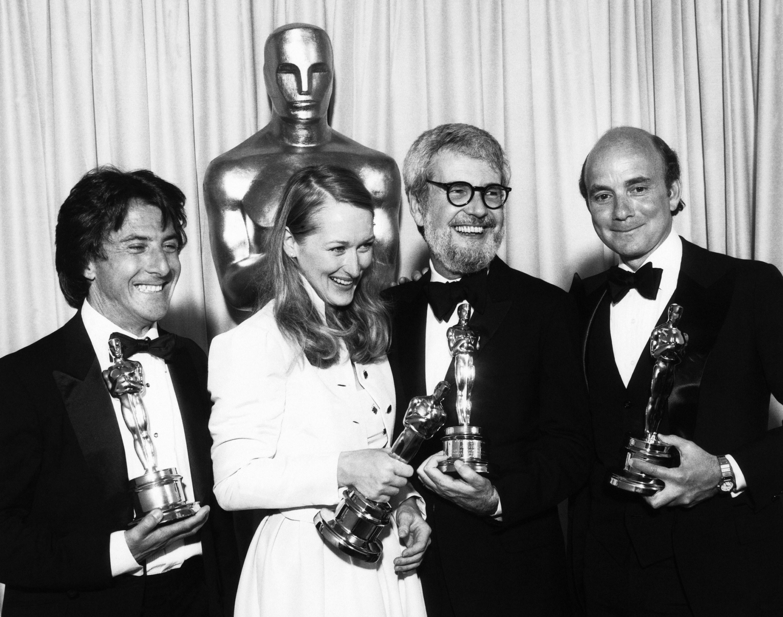 The creative team behind Kramer vs. Kramer collects their Oscars