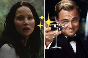 hunger games and gatsby
