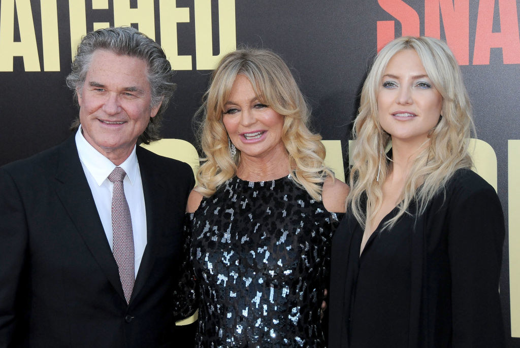 Kurt, Goldie, and Kate on the red carpet