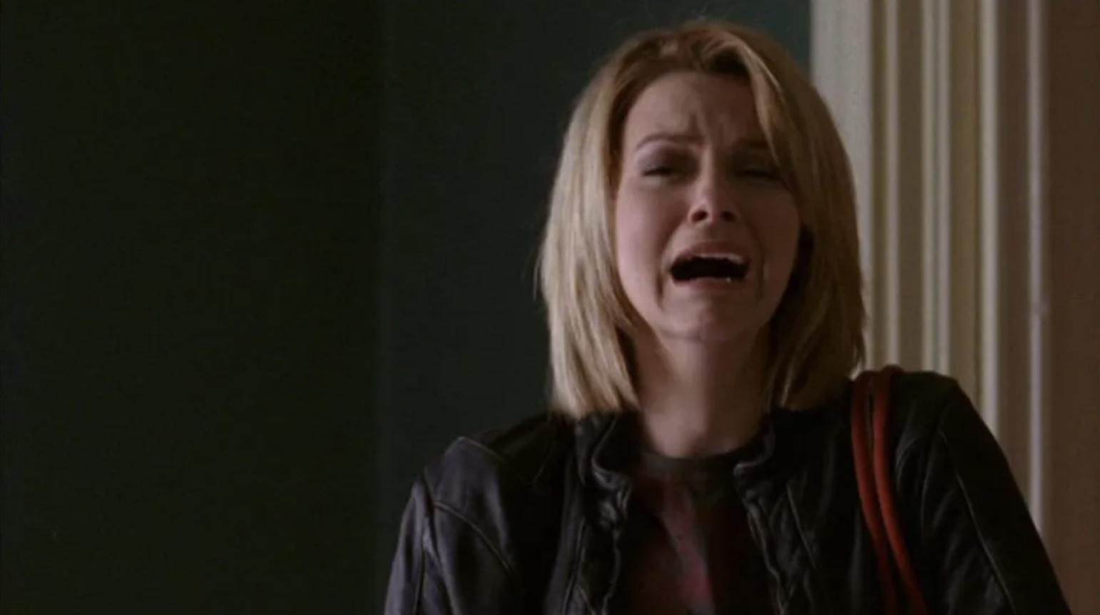 Peyton crying and screaming