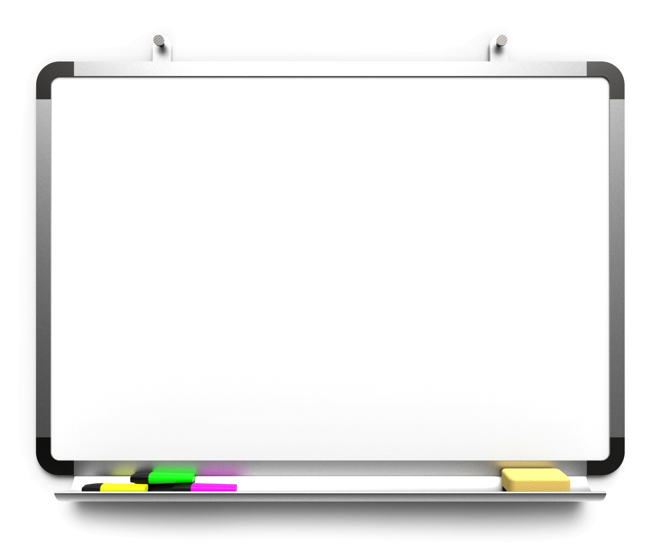 Photo of a hanging dry erase board