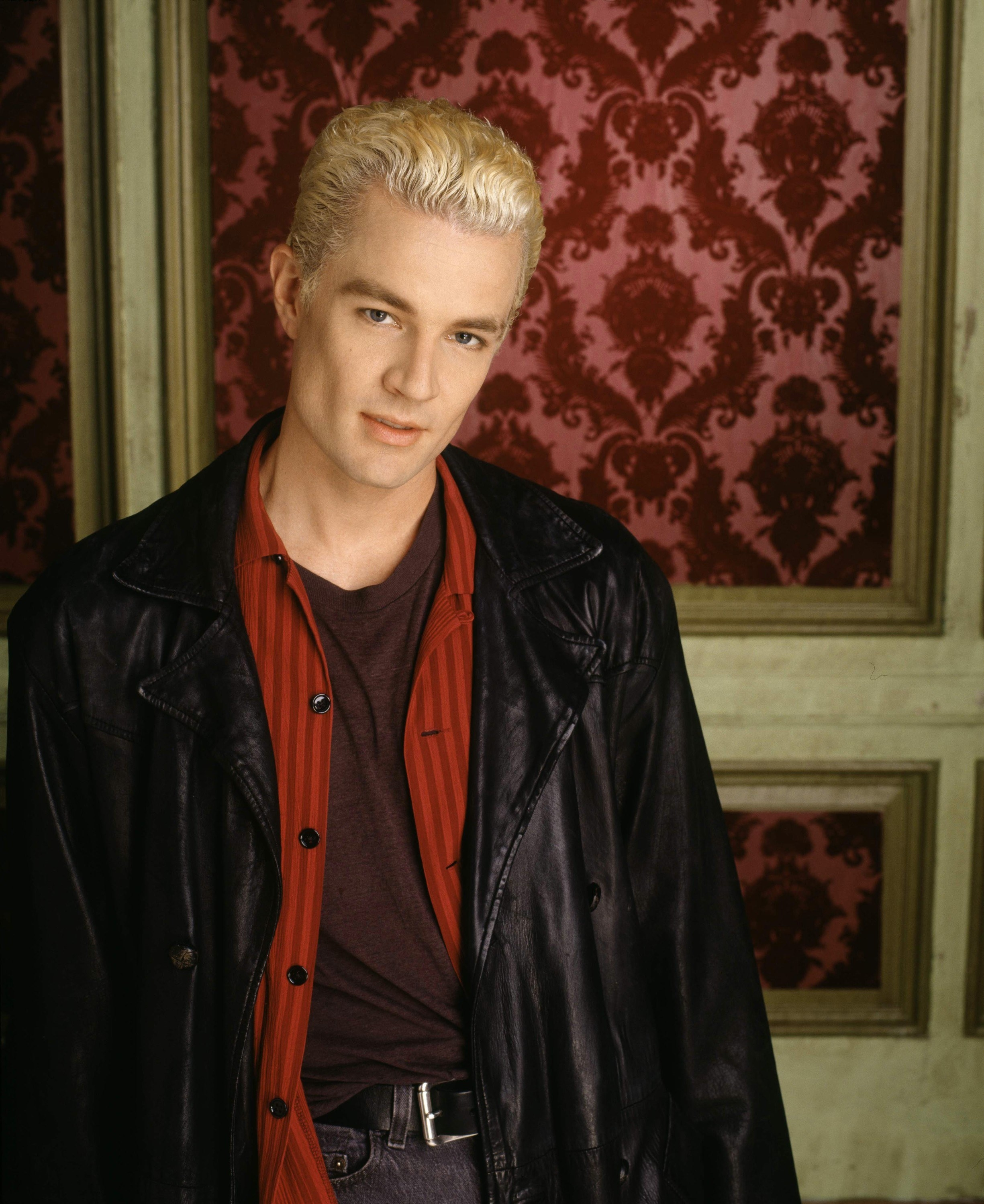 Spike in his leather duster