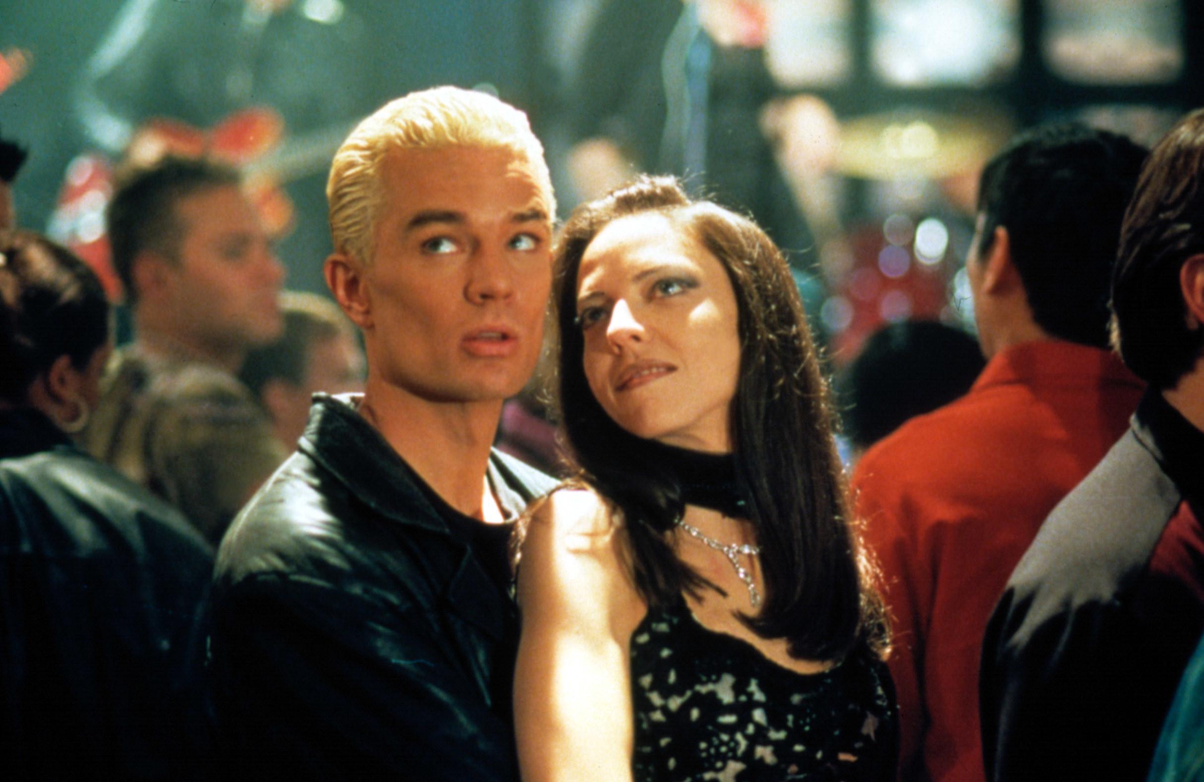 Spike with Drusilla at the Bronze nightclub