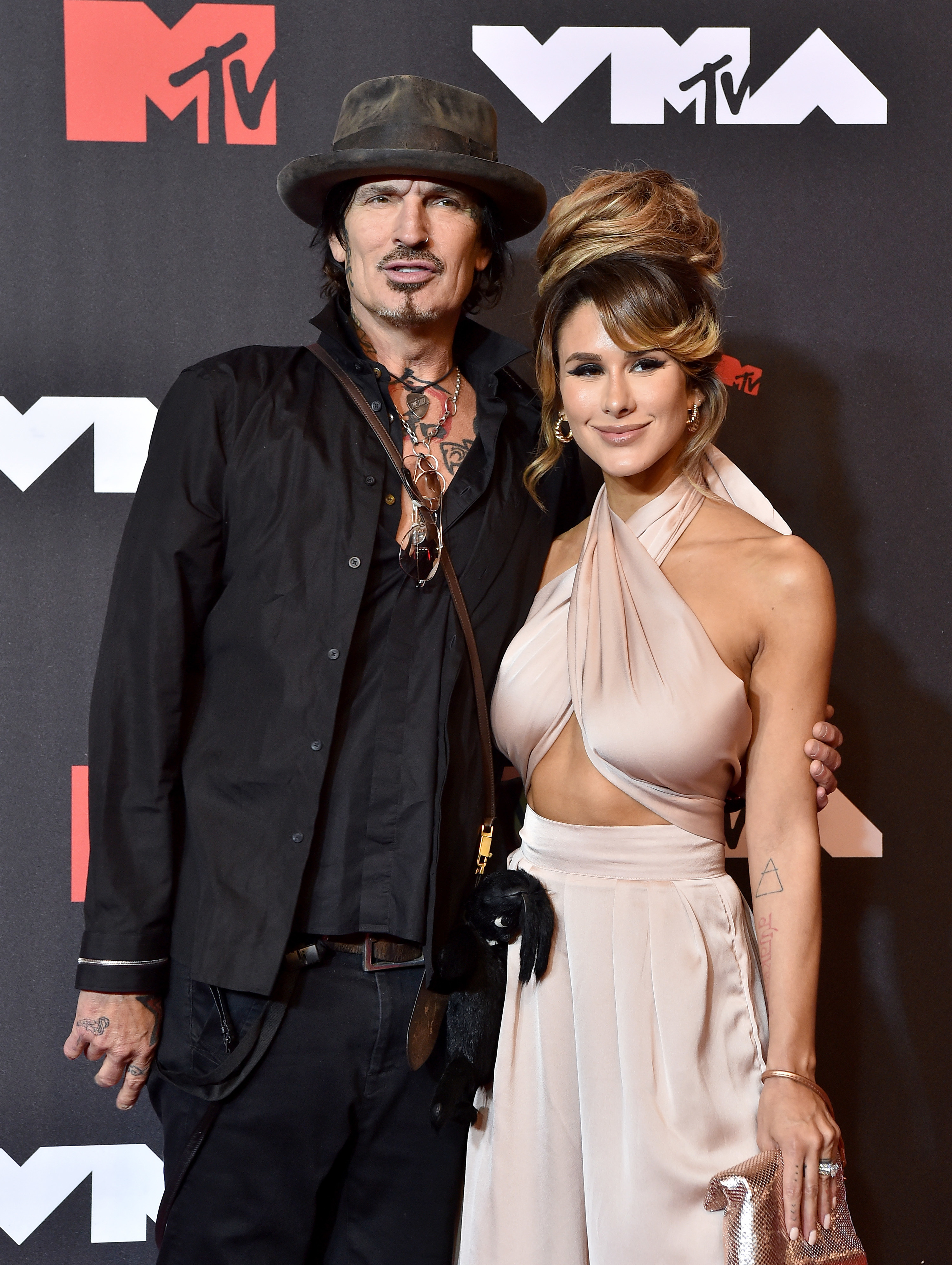 Tommy and Brittany on the red carpet
