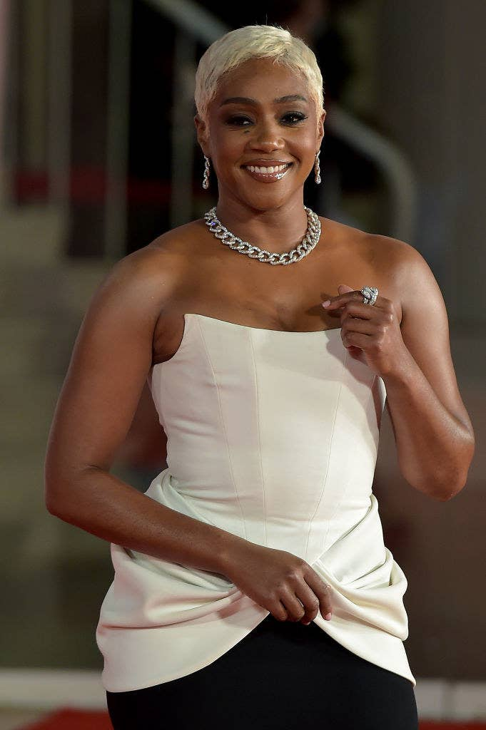 """Tiffany Haddish attends the red carpet of the movie """"The Card Counter"""""""