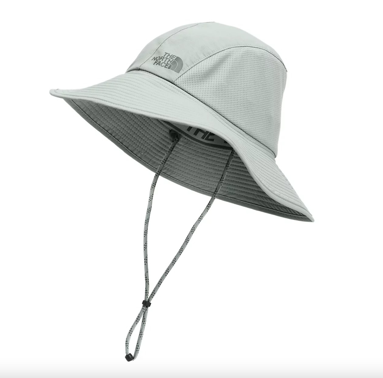 the North Face hat in gray