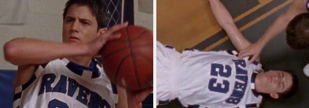 Nathan collapses on basketball court