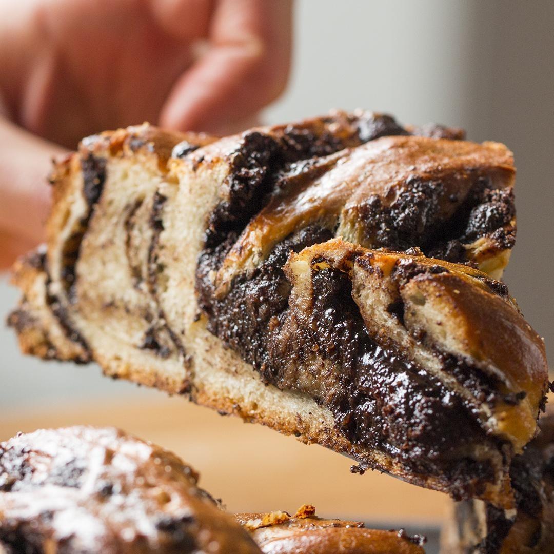 Chocolate Braided Swirl Bread (Babka)