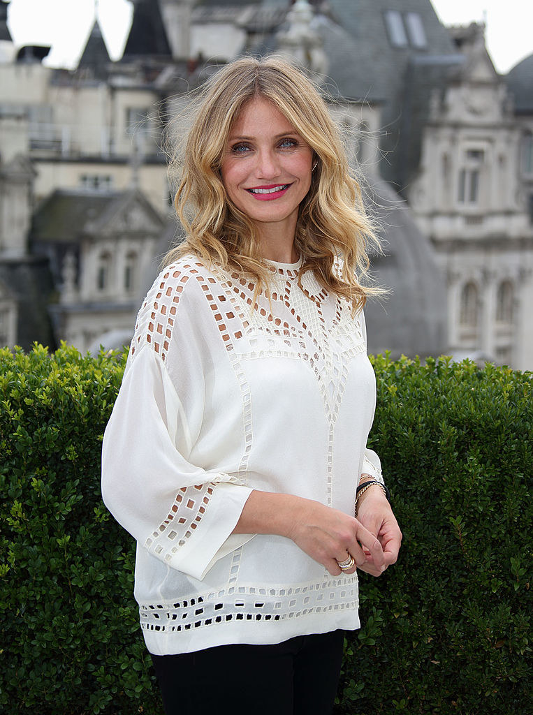 """Cameron Diaz attends a photocall for """"Sex Tape"""""""