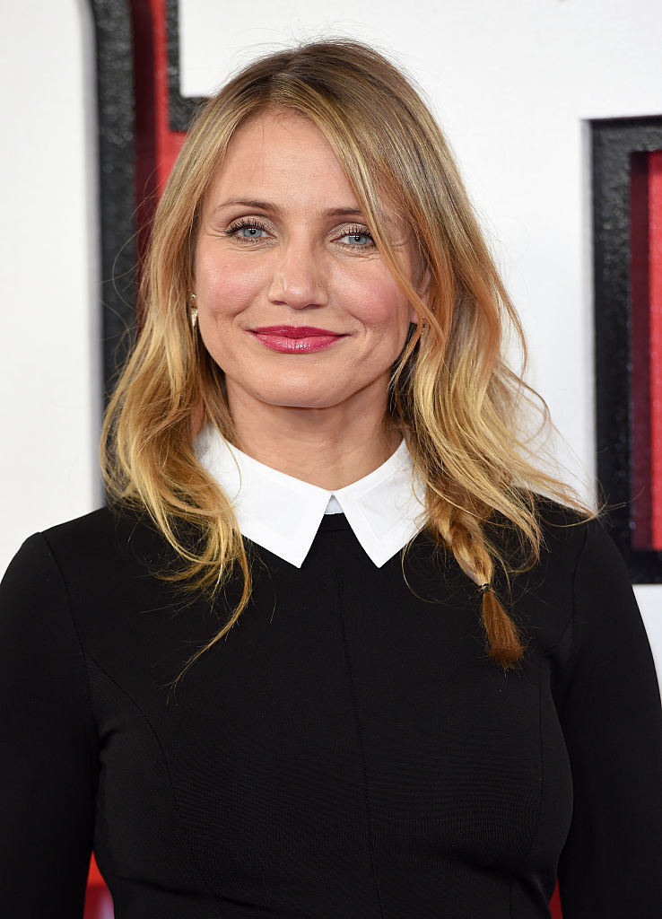 """Cameron Diaz attends a photocall for """"Annie"""""""