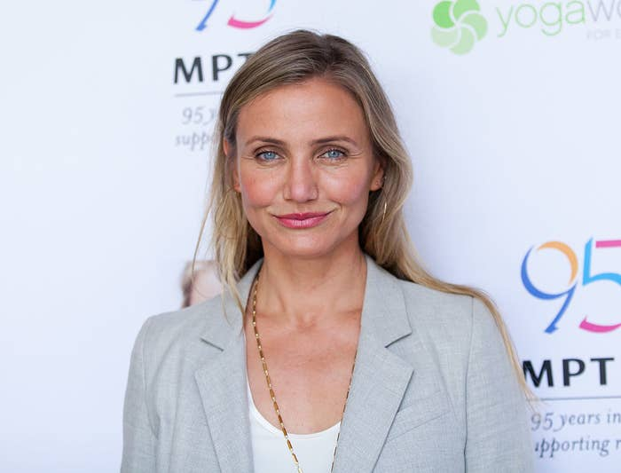 Cameron Diaz attends the MPTF Celebration for health and fitness