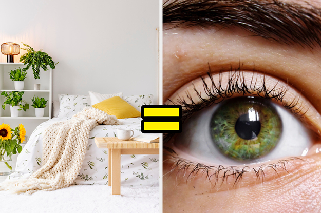 I Literally Know Your Hair And Eye Color Based On The Bedroom You Design In This Quiz