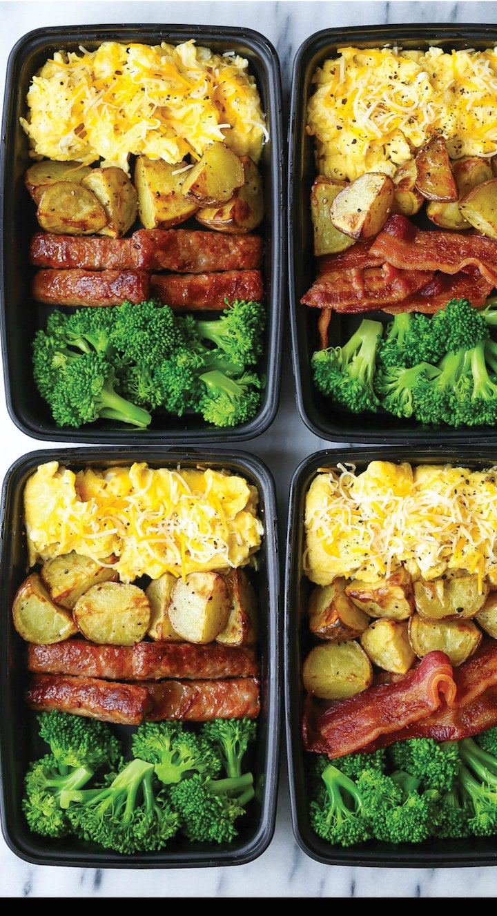 Bacon and Eggs Breakfast Meal Prep