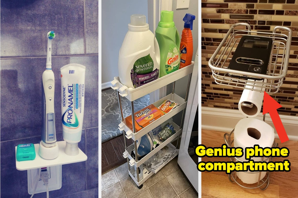 39 Organization Products That'll Make Room In Your Crowded Space