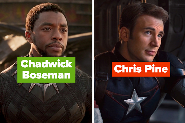 I Bet You Can't Name 20 Actors Who've Been In Marvel Movies
