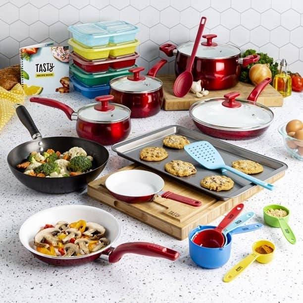 A selection of Tasty Cookware.