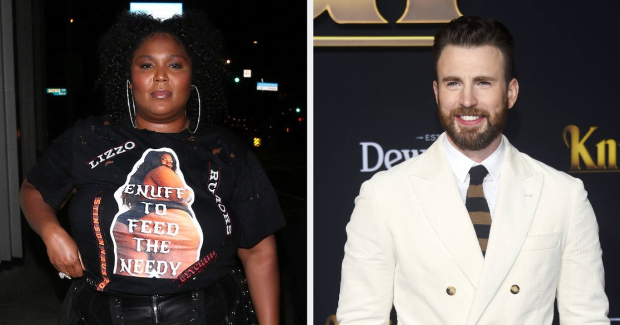 """Lizzo Wants To Star Opposite Chris Evans In A """"Bodyguard"""" Remake"""