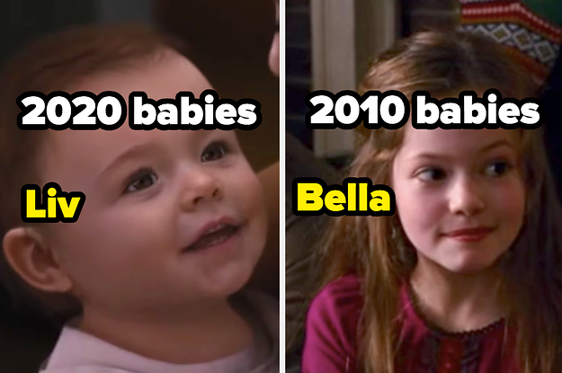 Here Are The 20 Most Popular Baby Names From Every 10 Years — How Many Can You Guess?