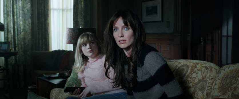 Two women look shocked