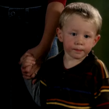 Jack Simpson as a toddler