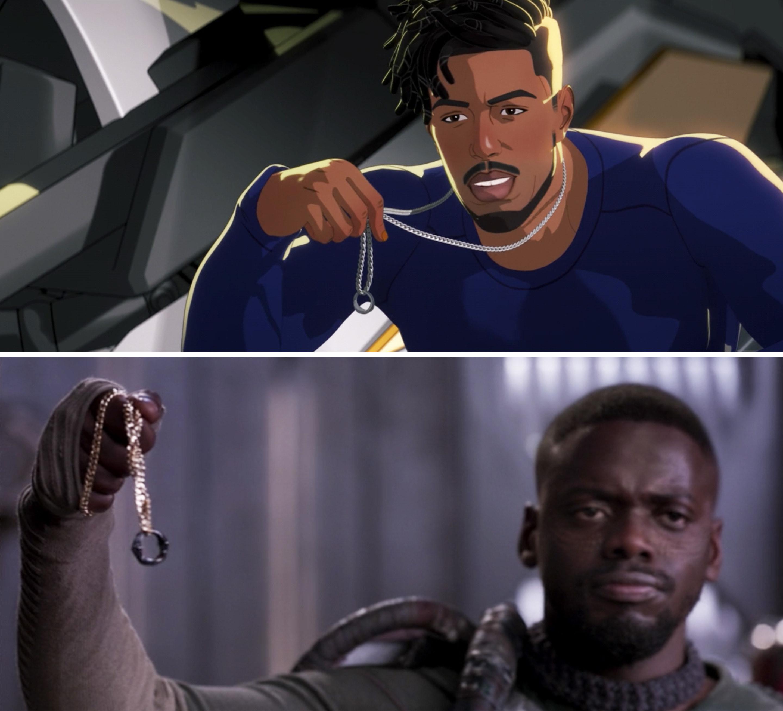Killmonger showing his ring vs. W'Kabi in Black Panther