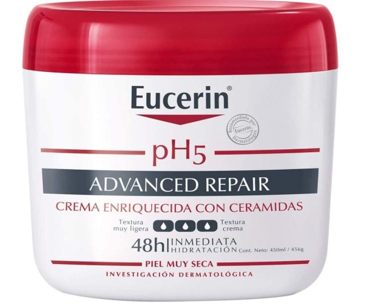 Foto de crema hidratante corporal Eucerin.